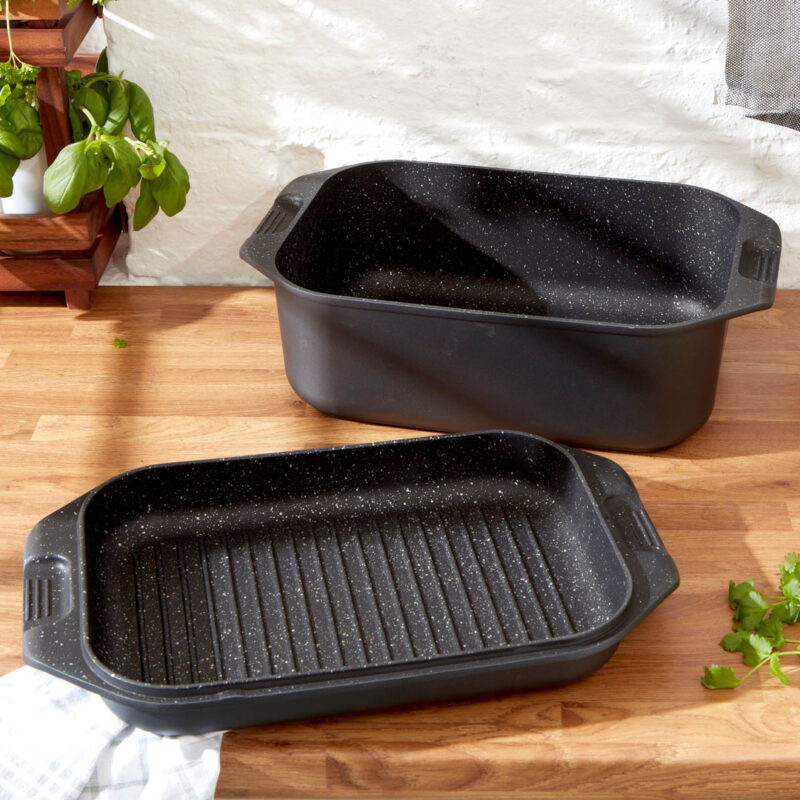 Non-Stick Double Roasting Pan