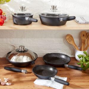 Wok, Saucepot, Frying Pans, Saute Pan