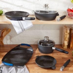 Frying Pan, Saute Pan, Saucepot, Teppanyaki Grill Pan