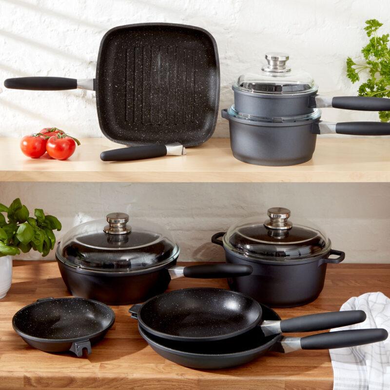 Grill Pan, Saucepot, Sauce Pans, Frying Pan, Saute Pan