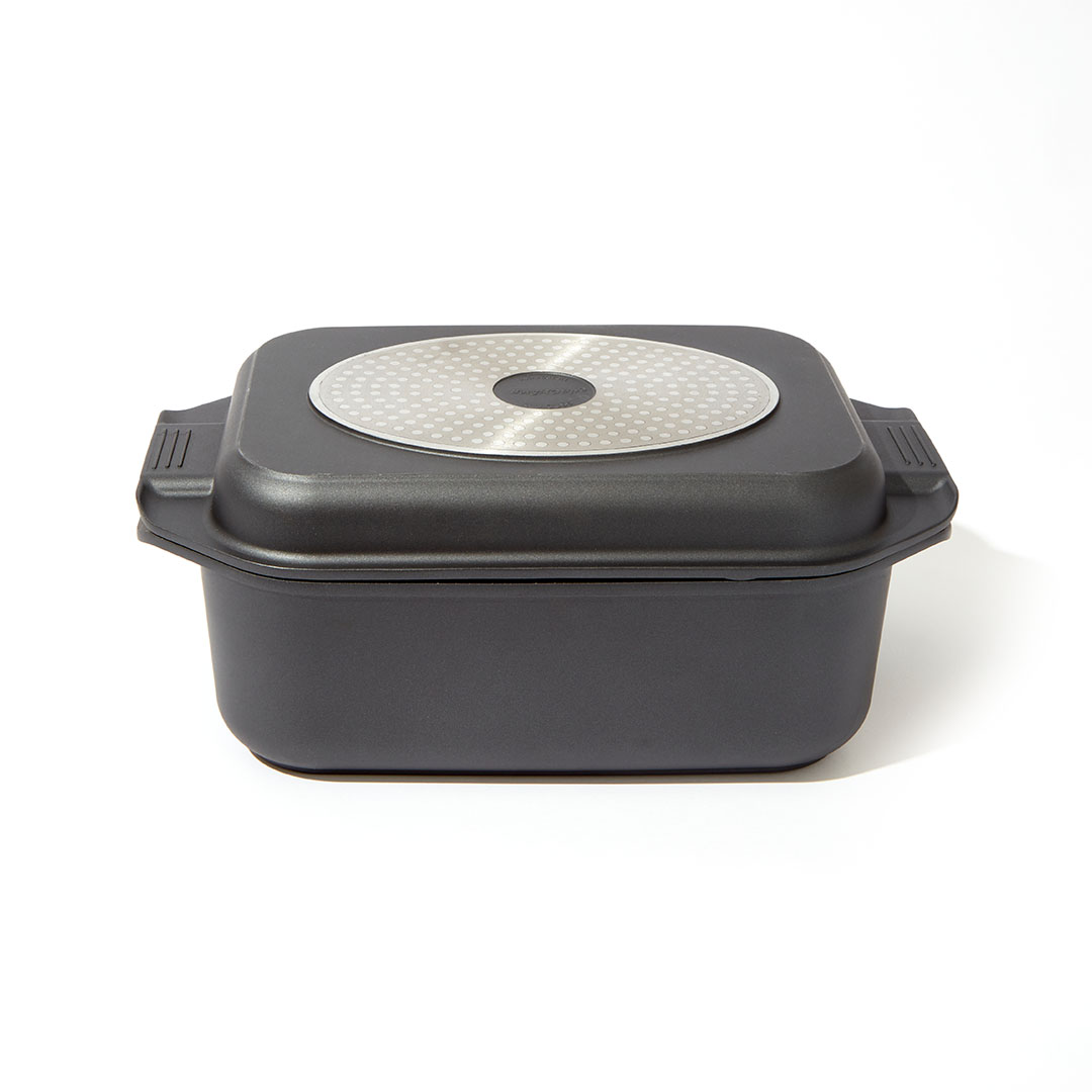 Non-Stick Double Roasting Pan With Lid